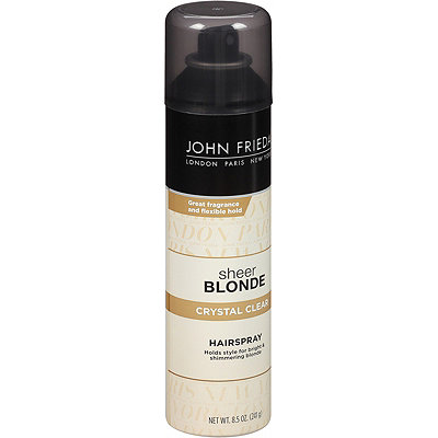 John Frieda Sheer Blonde Crystal Clear Hairspray