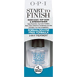 OPI Start To Finish Base Coat, Top Coat & Strengthener 3-in-1 Treatment