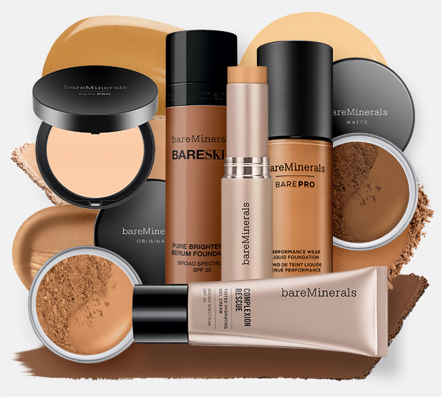 Bareminerals Foundations