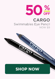50% off Cargo Swimmables Eye Pencil, now $9, regular $18.