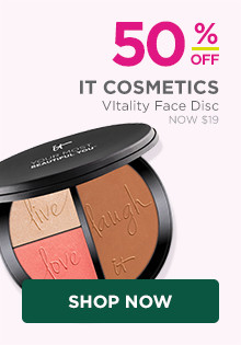 50% off IT Cosmetics Your Most Beautiful You Anti-Aging Face Palette, now $17.50, regular $38.