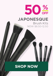 50% off Japonesque Brush Kits.
