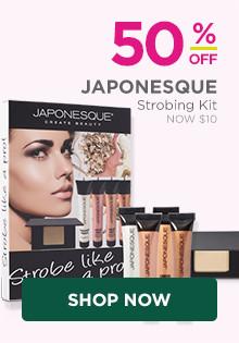 50% off Japonesque Strobing Kit, now $10, regular $20.
