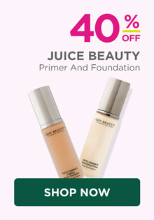 40% off Juice Beauty Primers and Foundations, regular $36-$42.