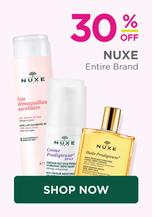 Nuxe Skincare 30% off Entire Brand, exclude Holiday.