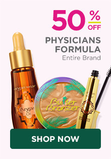 50% off entire Physicians Formula Brand.
