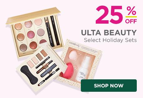 25% off select Ulta Beauty Holiday Sets.