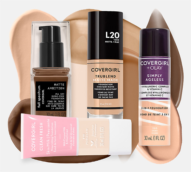 Covergirl Foundations