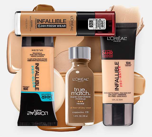 L'Oréal Foundations