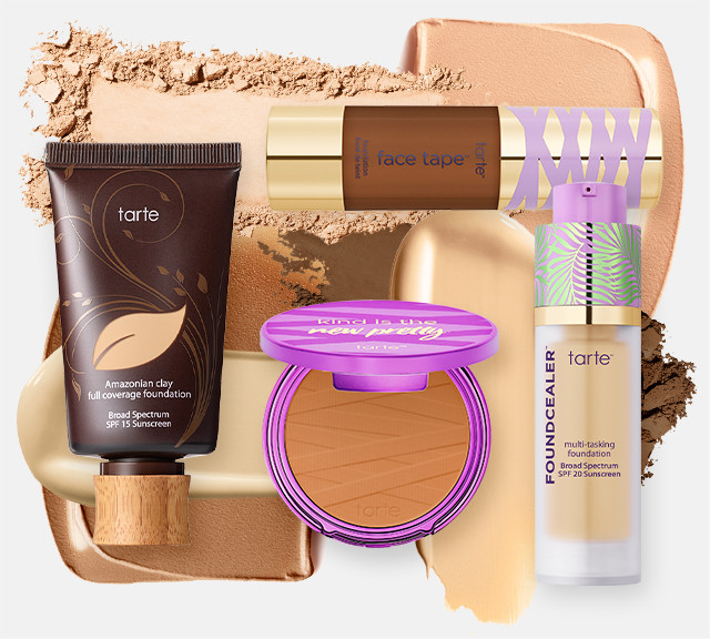 Tarte Foundations