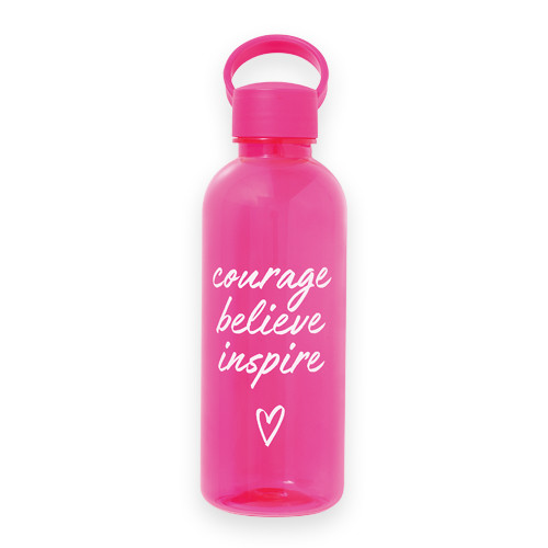 Courage, Believe, Inspire Water Bottle product picture