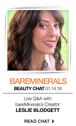 Live Chat:bareMinerals