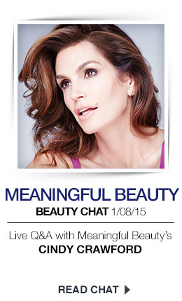 Live Chat: Cindy Crawford
