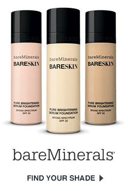 bareMinerals bareSkin Foundation Get Shade Matched Now