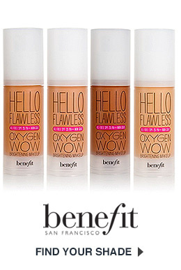 Benefit Cosmetics Hello Flawless Foundation Get Shade Matched Now