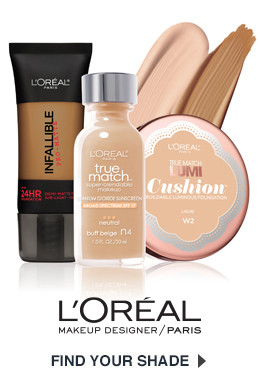 L'Oreal Shade Finder