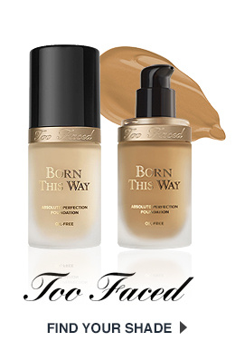 Too Faced Born This Way Shade Finder