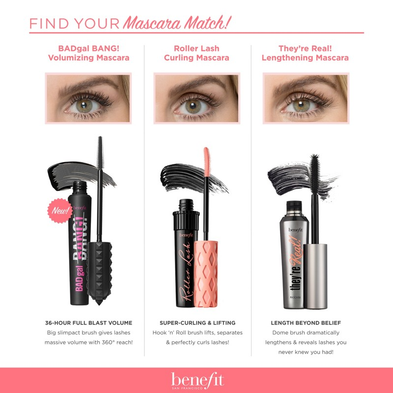 f68a654e0a9 Benefit Cosmetics They're Real! Lengthening Mascara | Ulta Beauty