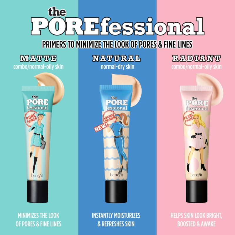 The Porefessional Face Primer Benefit Cosmetics Ulta Beauty