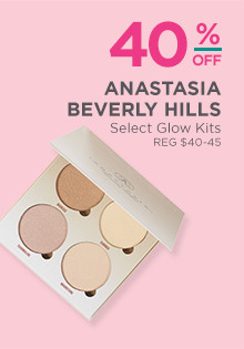 40% off select Anastasia Beverly Hills Glow Kits, regular $40 to $45.