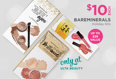 $10 bareMinerals doorbusters kits. A $37 to $39 value.