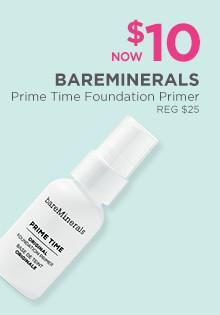 bareMinerals Prime Time Primer is now $10, regular $25.