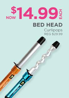 Bed Head Curli Pops is now $14.99, regular$29.99.