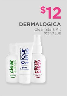 $13 Dermalogica Clear Start Kit, a $25 value.