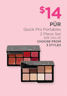 $15 PUR Quick Pro Portables, a $36 value. Choose from 3 styles!