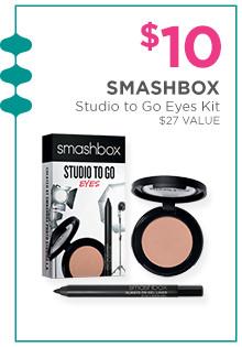 $10 Smashbox Studio to Go kits.