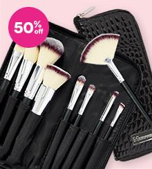 Morphe Set 502 - 9 Pc Vegan Brush Set Now $19.50