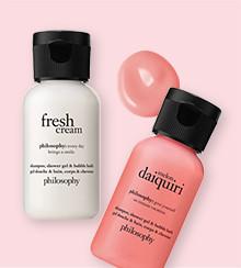 Philosophy Shampoo, Shower Gel & Bubble Bath 1 oz 5 For $10