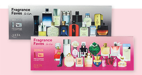 ULTA Beauty Fragrance Faves For Him / Her Now $14.99