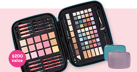 ULTA Beauty Gorgeous On The Go 93 Pc Collection Now $14.99