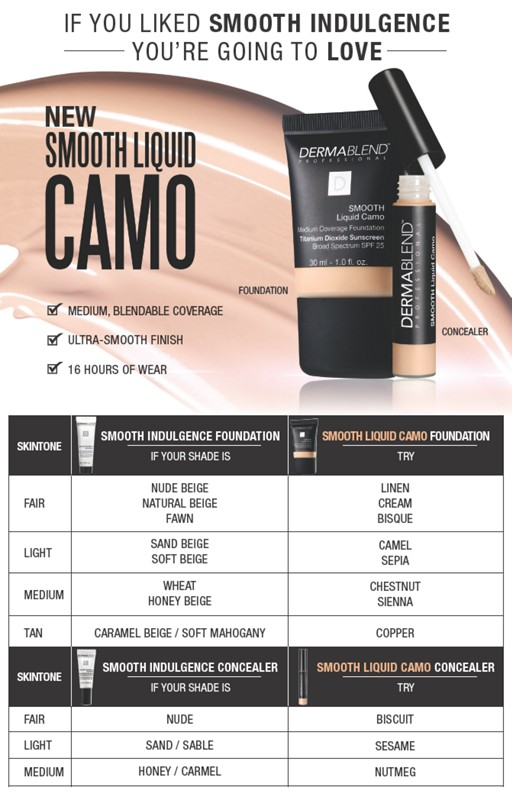 Dermablend Smooth Liquid Camo Foundation Ulta Beauty