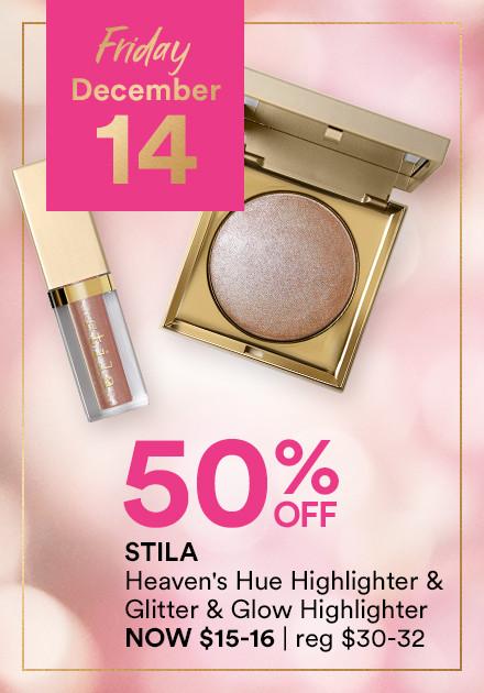 Stila Heaven's Hue Highlighter + Glitter & Glow Highlighter Now 50% Off