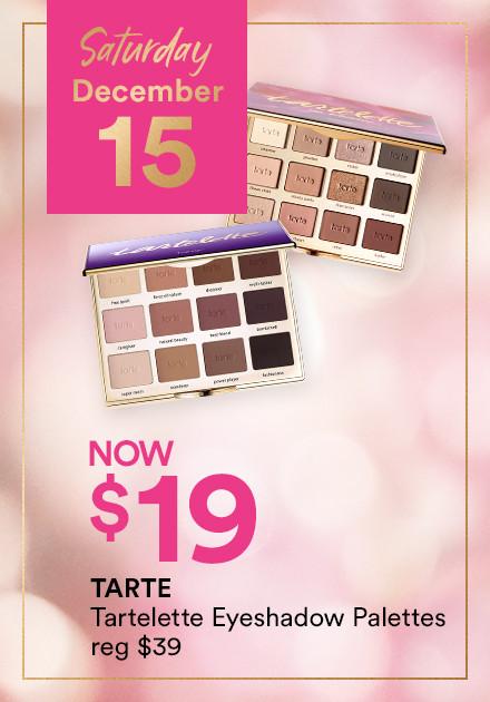 Tarte Tartelette Palettes Now $25