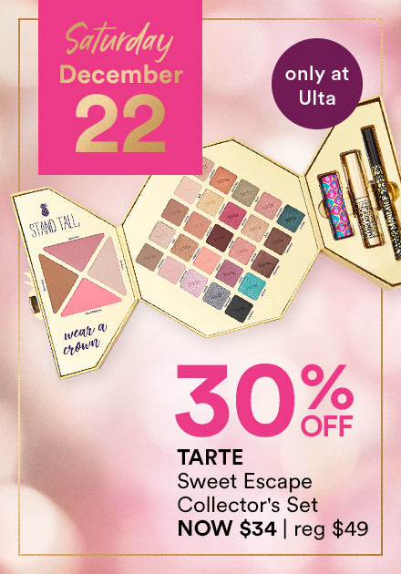 TARTE	Sweet Escape Collector's Set	NOW 30% OFF