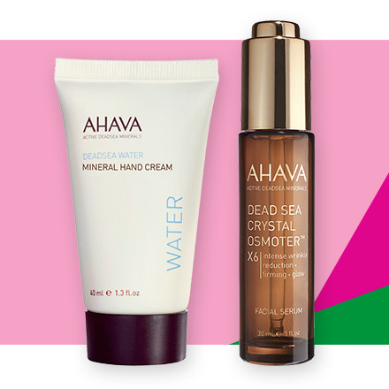 Receive 30% off the entire brand Ahava during Holiday Haul at Ulta Beauty!