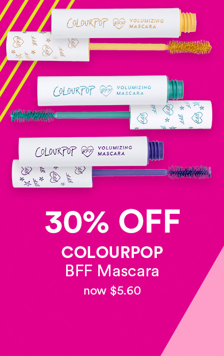 Receive 30% off Colourpop BFF Mascara during Holiday Haul at Ulta Beauty!