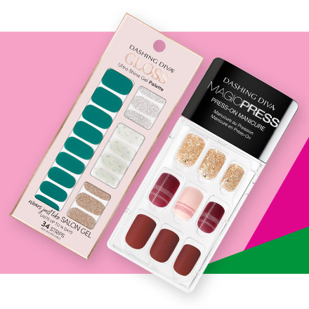 Receive 40% off the entire brand Dashing Diva during Holiday Haul at Ulta Beauty!