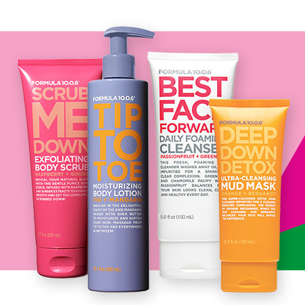Online only! Receive 40% off the entire brand Formula 10.0.6 during Holiday Haul at Ulta Beauty!