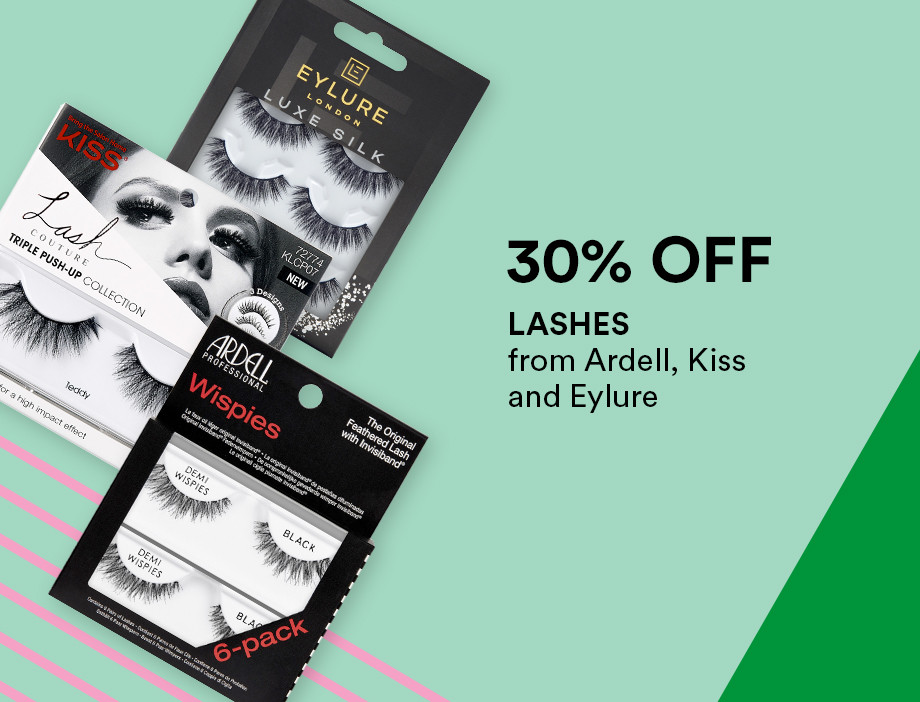 Faux Eyelashes from Ardell, Kiss, and Eylure are 30% during Holiday Haul at Ulta!