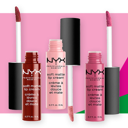 Receive 30% off NYX Professional Makeup Soft Matte Lip Cream during Holiday Haul at Ulta Beauty!