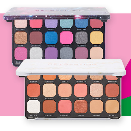 Receive 40% off Revolution Forever Flawless Eyeshadow Palettes during Holiday Haul at Ulta Beauty!