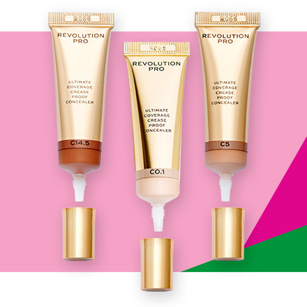Receive 40% off Revolution Pro Ultimate Coverage Crease Proof Concealer during Holiday Haul at Ulta Beauty!