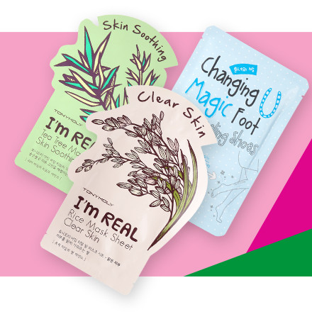 Online only! Select TonyMoly Sheet Masks are 2 for $5 during Holiday Haul at Ulta Beauty!