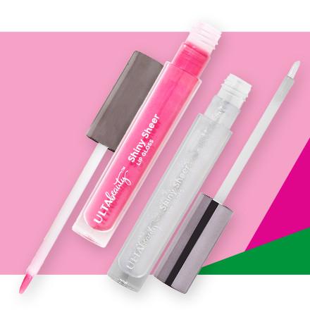 Receive 50% off Ulta Beauty Collection Shiny Sheer Lip Gloss during Holiday Haul at Ulta Beauty!