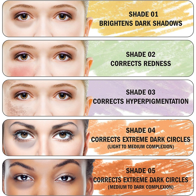Corrector Brown Under Eye Circles Hairsstyles