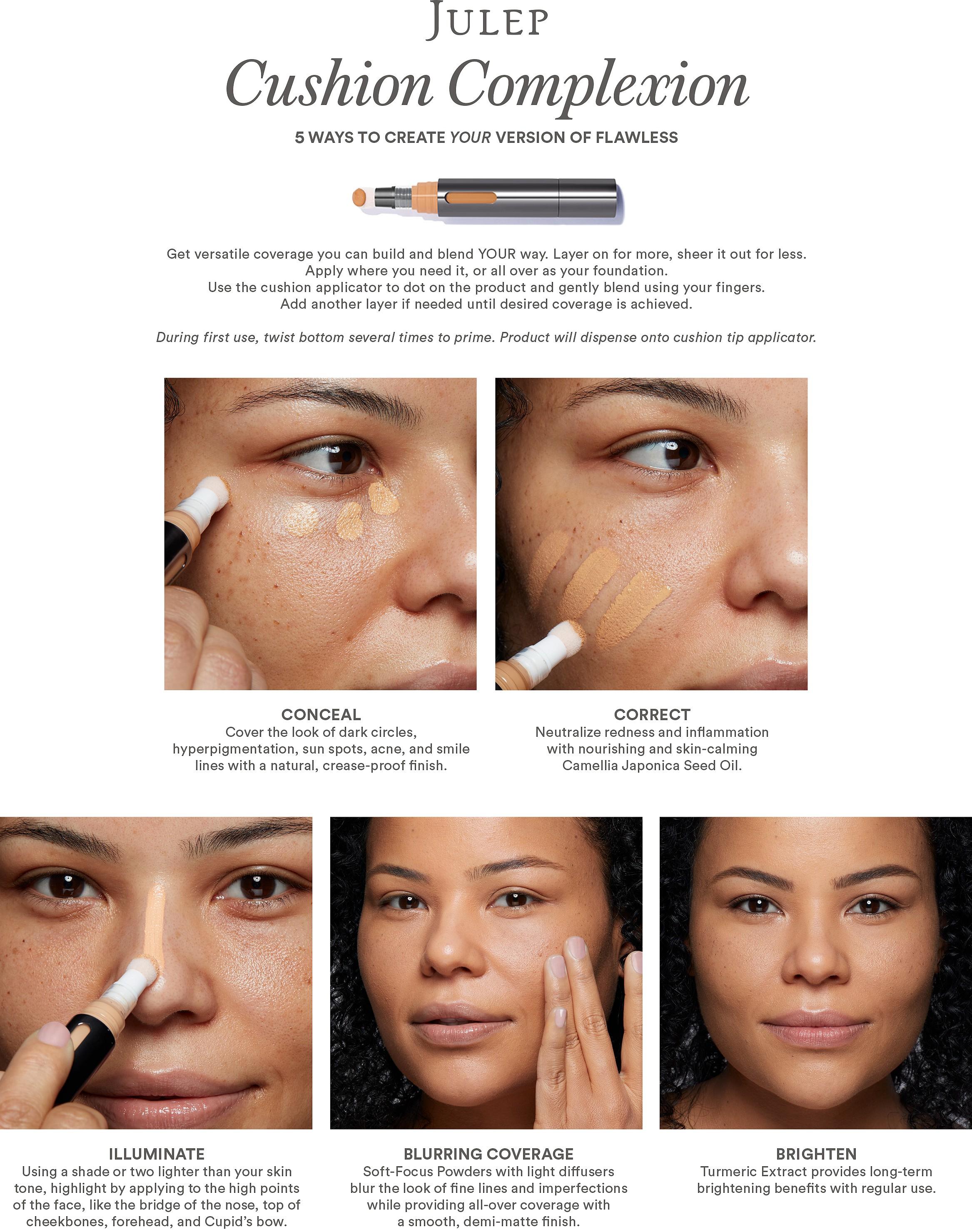Julep Cushion Complexion 5 In 1 Skin Perfector With Turmeric Ulta